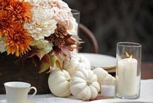 Thanksgiving / Our Thanksgiving favorites for decorating and dining!