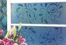 Glass etching / by Debbie Patterson