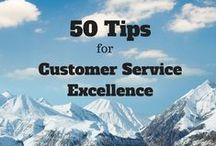 50 tips for customer service excellence / Tips and practices for providing excellent customer service and building winning relationships, earning and retaining the trust of customers, moving from service to sales.