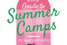 Summer learning / Educational summer camps, summer activities, and day trips / by Inga Cotton | San Antonio Charter Moms