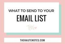 Email Marketing / by Chloe West