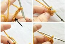 Crochet Techniques by Knot By Gran'ma / Blog posts featuring different crochet techniques and instructions.