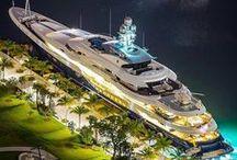 Luxury yachts & Sailboats / Stunning vessels