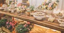 Decoração Vintage de Casamento