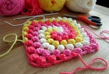 Cool crochet 1. / Inspiring colourful crochet patterns.