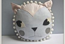 Cat pillow and cat bag