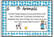 Math Puzzles / Math Puzzles for the classroom and for homeschoolers. Number math puzzles and math games too.