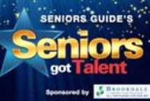SENIORS GOT TALENT 2013!! / SENIORS GOT TALENT IS BACK FOR IT'S THIRD YEAR!! It is a user-submitted video showcase that highlights the vibrant side of being a senior. To submit your video and a chance to win CASH prizes, email Talent@SeniorsGuideOnline.com