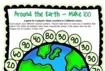 Holiday Themed Math / Fun math for the holidays and special days! Math games and math ideas for Halloween, Thanksgiving, Christmas, New Year, Valentine's Day, St. Patrick's Day, Easter, Earth Day and more!!!!!