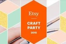 "Etsy Craft Party 2015 - Leiden / Kaleidoscope: Paper Taking Shape  Inspiratie board voor de Craft Party 6 juni 2015, 14:00-17:00  in Handwerk Studio Leiden Georganiseerd door team ""Etsy Shops Leiden e.o. NL"""