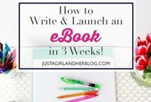 Aspiring E-Book Writer / Check out the tips, tools and techniques to write an awesome e-book!
