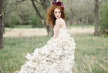 Wedding Fashion LOVE! / As a former wedding planner, I had a LOT of wedding pins. When cleaning up my boards, I realized I didn't need all of them anymore, but I didn't want to completely get rid of all of that work.  So here's a curated collection of my favorite wedding dresses and accessories as well as looks for bridesmaids, groomsmen, and grooms!