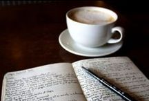 """Journal Journeys / ~ """"Fill your paper with the breathings of your heart.""""  -- William Wordsworth ~  / by Pedaldance"""