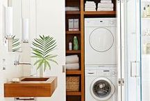 {Home} Laundry / Many ideas, one laundry to revamp! / by Pedaldance