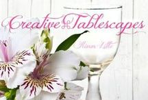 Creative ~ Tablescapes / Inspiration Board for Charming & Creative Tablescapes! ~ If you would like an invite, make sure you're following this board &  Message me with your LINK or Username at pinterestklittle@gmail.com   Also→√NO Spam! Content will be reported & you WILL be removed! √NO Food!(unless it is part/or pertaining to a Tablescape) √NO PINS ALLOWED WITH PRICE TAGS! 10 PINS @ a time no 24 hour limit, just let a few pinners pin before pinning again - I remove pins that are not related to Board topic. xx Kimm / by kimm little