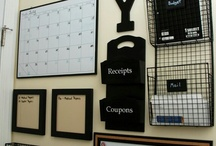 Organization ideas / by Lori Breit