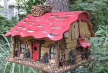 Bird cribs / http://facebook.com/lanie.blackmon / by Lanie Blackmon