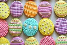 The Easter Bunny / All things Easter (& spring) - crafts, decor and recipes! Lots of great ideas from Easter dinner to your child's Easter basket. And of course lots of cute Easter eggs.