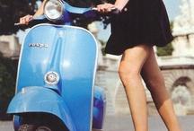 #Ride on a Vespa