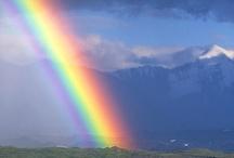 #Rainbow in the sky