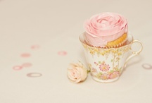 t e a p a r t y ♥ / head over heels in l♥ve with tea parties... / by Almie's Bakery