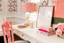 HOME OFFICE & PLANNERS / Home office decor, planning, organization and furniture.