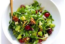 Salads / I try to have a big salad for dinner at least once a week.  These are some ideas to keep it interesting.