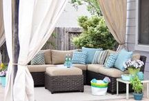 Outdoor Living / Ideas for the backyard