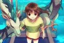 Miyazaki/Studio Ghibli / Películas, dibujos, fotografías inspiradas en la obra de este gran genio del animé