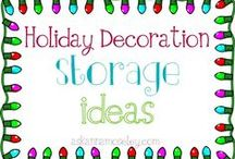 organizing :: holidays / by Ask Anna