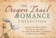 The Oregon Trail Romance Collection / Nine romantic adventures take readers along for a ride on the Oregon Trail where daily challenges force travelers to evaluate the things that are most precious to them—including love. Enjoy the trip through a fascinating part of history through the eyes of remarkably strong characters who stop at famous landmarks along the way. Watch as their faith is strengthened and as love is born despite unique circumstances. Discover where the journey ends for each of nine couples.