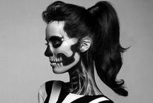 Halloweenie / spookie creepy skeletons  / by Katie Kingrey