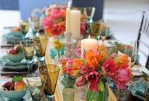 The Table / Ideas for setting a beautiful & unique table that your guests won't soon forget.
