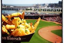 MLB Food / Ballpark food = what dreams are made of.