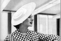 Vintage Fashion and Styles / The glamour and elegance of times gone by
