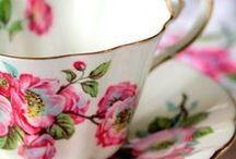 Tea cups & Tea pots / by Natalie