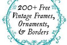 Free fonts & printables