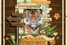 Scrapbooking Page Layouts- Zoo / by Kelley Wullaert