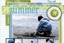 Scrapbooking Page Layouts- Summer Season/Holidays / This board is dedicated to all page layouts that deal with the Summer Season and holidays- Forth of July etc. For more Summer ideas, check out my Camping/Outdoor layout board, my Zoo layout board and my Beach layout board. Also, feel free to check out my other seasonal/holiday boards (or any other board you would like).  Enjoy! / by Kelley Wullaert
