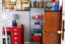 Land of Nod - Shared Boy's Room / Ethan and Maddox All American Shared Boys Space
