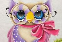 Owl Home Decor and more. / Cool owl stuff for decorating