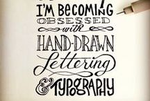 Typography / by Tree Craft Diary