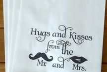 Wedding Napkins / That extra special touch for your wedding
