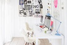 Workspace Ideas / Inspiration for my future studio / by Tree Craft Diary