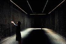 Light-installations/Rain-installations