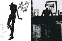 OLIVIER'S SKETCHBOOK  / by Theyskens' Theory