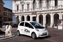 Peugeot ION Bergamo Tour  / Foto set con Auto Peugeot iOn 100% elettrica dell'azienda Scame Parre spa - Bergamo e provincia | Photo set with Peugeot iOn the 100% electric car of the company Scame Parre Spa - Bergamo and its province