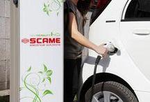 Scame Re-chargin' moments / Ricarica dell'auto elettrica dalla stazione di ricarica presso lo stabilimento Scame, località Campignano Parre, Bergamo | How to charge electric car with Scame charging station, in Parre, Bergamo - ITALY
