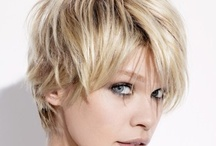 Short hairstyles / by Monica Bidwell