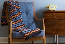 Blankets, Pillows &  Home Textiles / Comfy, cozy colorful textiles for home.